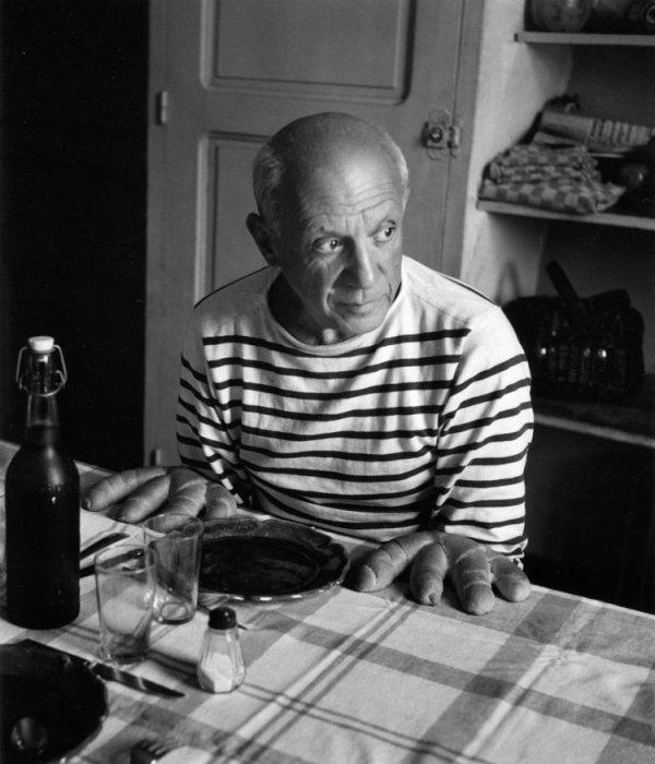 pablo-picasso-robert-doisneau-1952