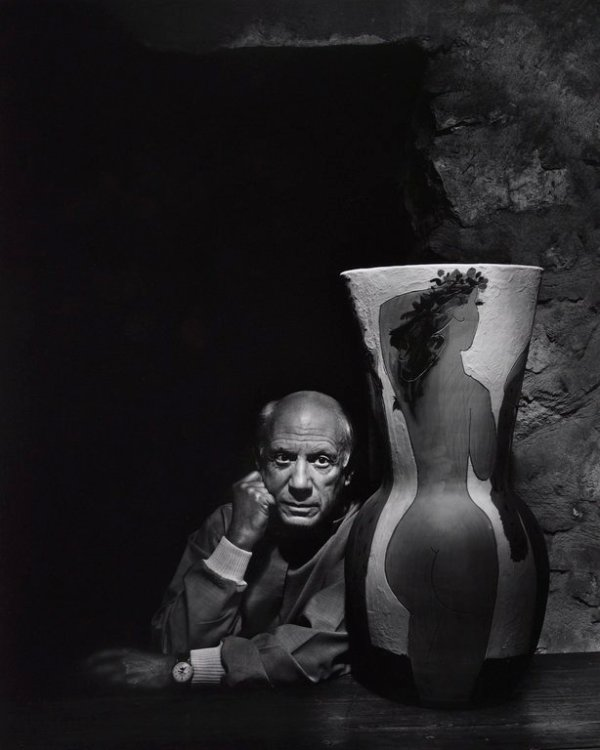 pablo-picasso-yousuf-karsh-1954