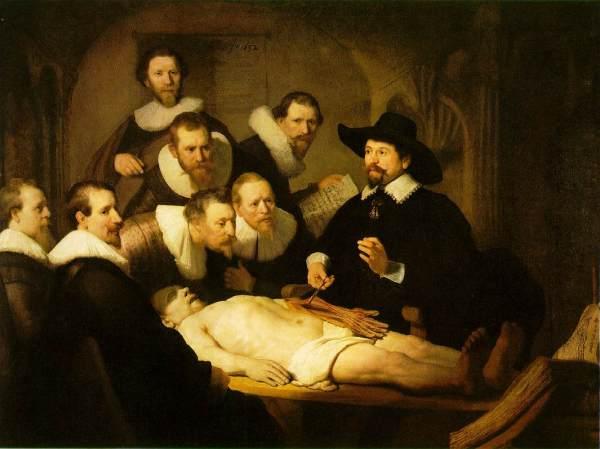 Rembrandt-clase-anatomia-Nicolaes-tulp-1632