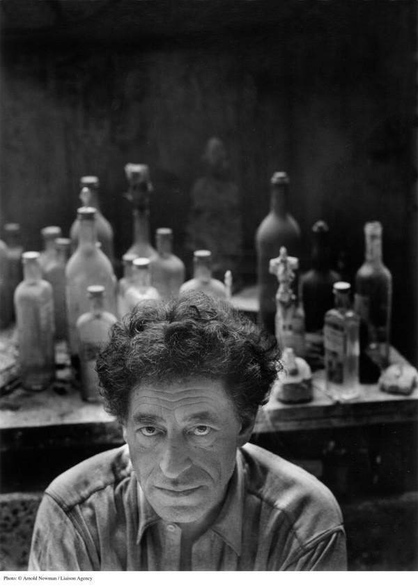 Portrait of Scupltor Alberto Giacometti