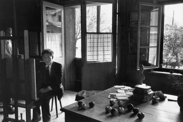 Alberto-Giacometti-cartier-bresson-1958