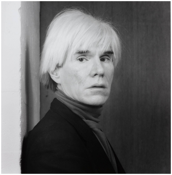 Andy Warhol 1983, printed 1990 by Robert Mapplethorpe 1946-1989