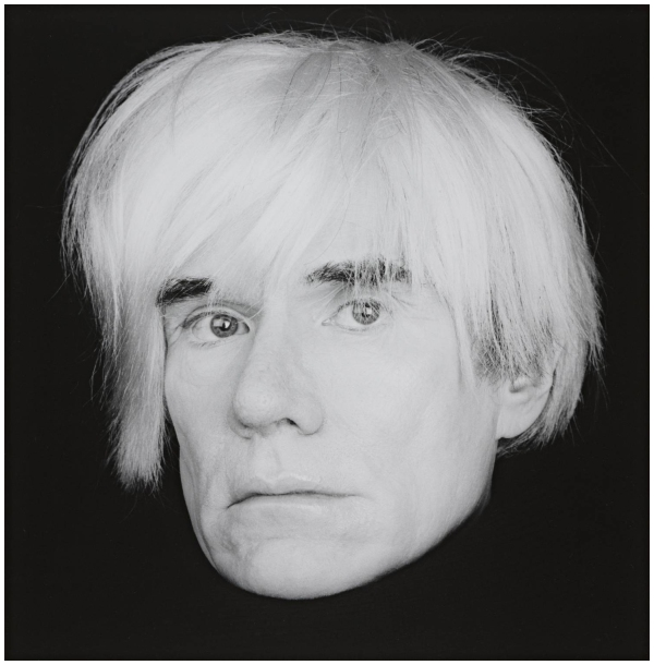 Andy Warhol 1986 by Robert Mapplethorpe 1946-1989